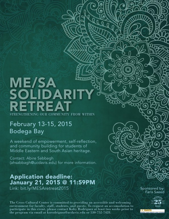 MESA Solidarity Retreat 2015